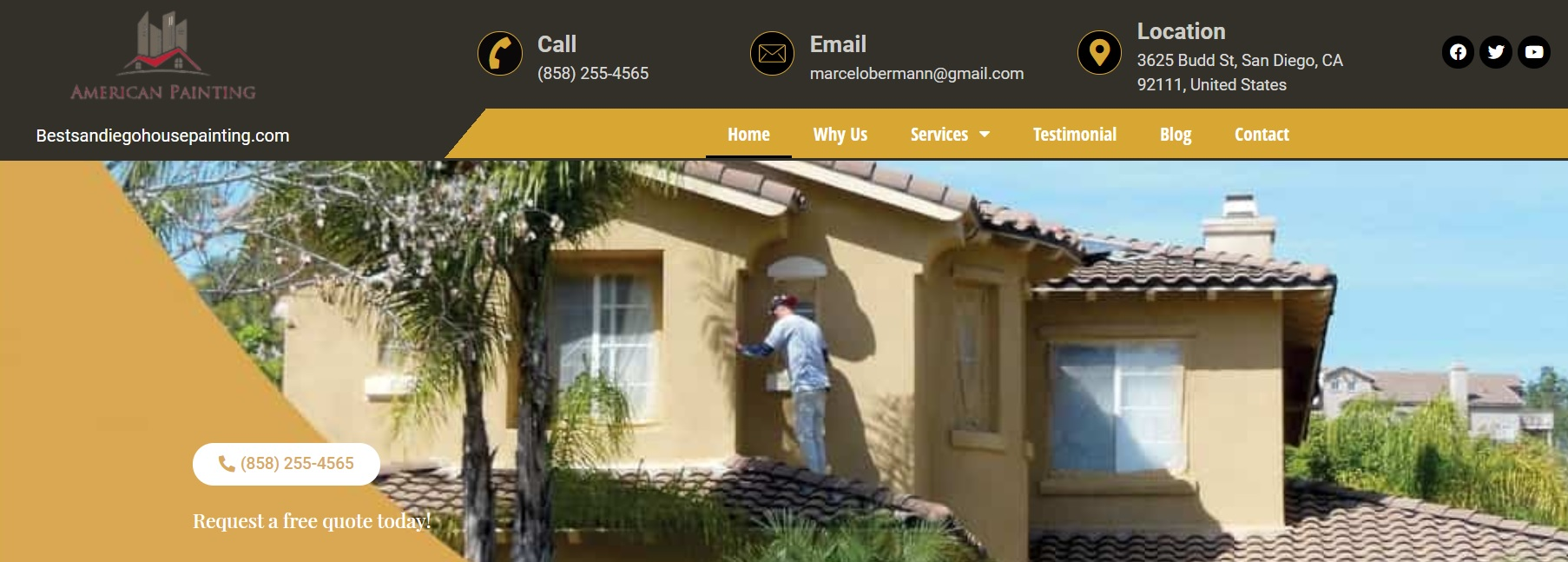 Best San Diego House Painting – American Painting