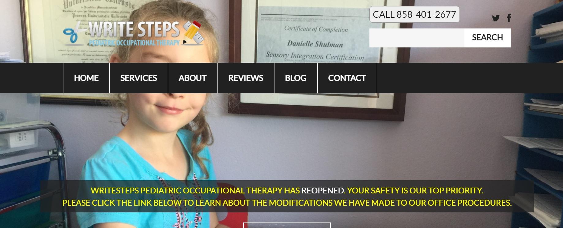 WriteSteps Pediatric Occupational Therapy