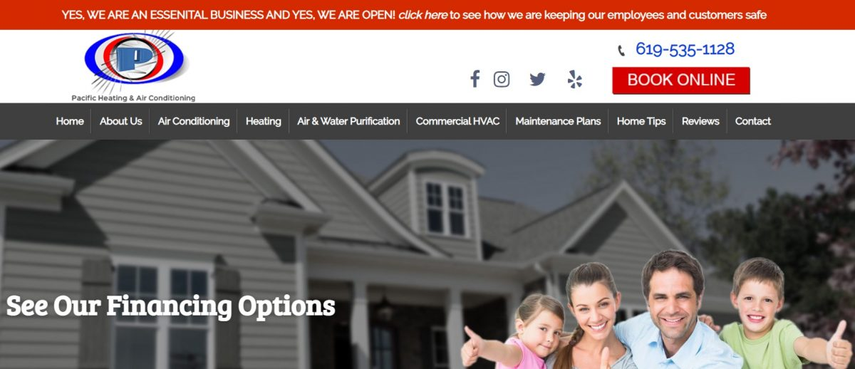 Pacific Heating and Air Conditioning