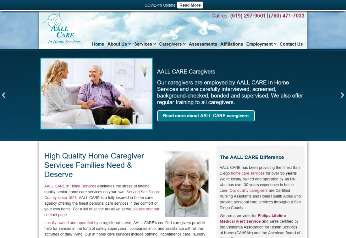 AALL Care In Home Care Services